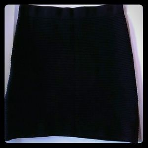 🎉5/$25 Silence + Noise S Black Knit Mini Skirt